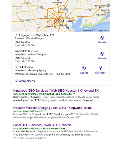 Kingwood Business SEO Services - Business SEO for Kingwood